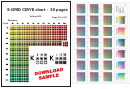 Cmyk Color Conversion Chart