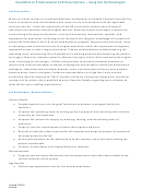 Healthcare Professional Job Description - Surgical Technologist