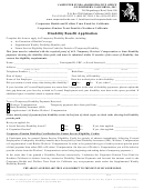 Disability Benefit Application Carpenter
