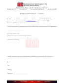 Request For New Jersey Ac 174 Forms