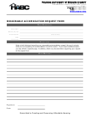 Reasonable Accommodation Request Form