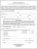 Certification Of Disability Form - Wayne County Transportation System