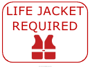 Life Jacket Required Sign Template