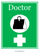 Doctor Sign Template