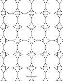 3-12-12 3-4-3-12 Tessellation Paper Template - Small