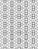 3-3-3-3-3-3 3-3-4-3-4 Tessellation Paper Template - Small