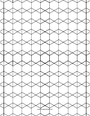 3-6-3-6 3-3-6-6 Tessellation Paper Template - Small