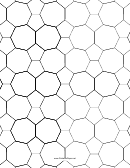 Tessellation Paper Template - Small