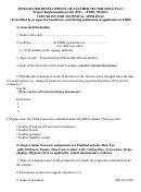 Checklist For Technical Appraisal