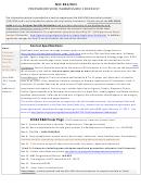 Nih R01/r21 Prepare/review/submission Checklist