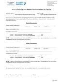 Social Security Number Certification Form For Parents
