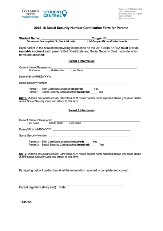 Top Social Security Card Replacement Form Templates free to