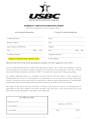 Federal Group Exemption Form