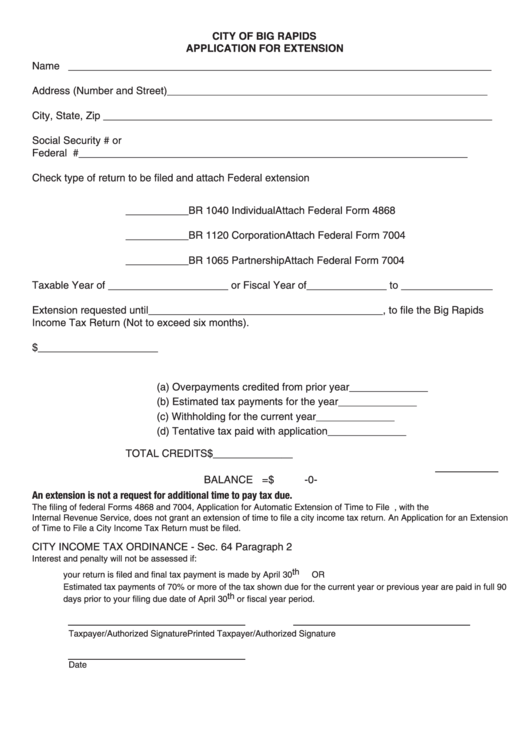 15 Tax Extension Form Templates free to download in PDF, Word and ...