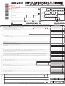 Form Nyc-uxrb Draft - Return Of Excise Tax By Utilities And Limited Fare Omnibus Companies