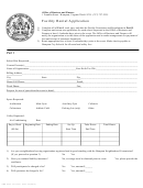 Form 172 - Facility Rental Application
