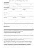 Princeton Fc Application For Financial Assistance Form