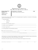 Form Lrg - Registration Or Renewal (foreign Limited Liability Company) - 2009