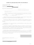 Grantee/grantor: No Judgments Form