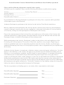 Parent/guardian Consent-medical Release And Release From Liability Agreement Form