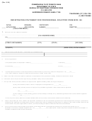 Form Bco-155 - Registration Statement For Professional Solicitor - 1994