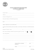 Form Ss-6041 - State Charitable Registration Contract Addendum (vendors)
