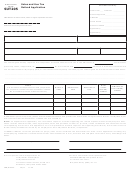 Form Sut205 - Sales And Use Tax Refund Application