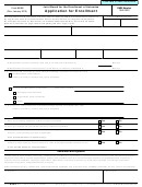 Form 5434 - Application For Enrollment Form - Joint Board For The Enrollment Of Actuaries - 2010