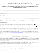 Form Mv-16-application For State Of Maine Identification Card Form
