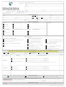 Senderra Specialty Pharmacy Patient & Medical Information Form