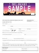 Form Of Application For Farmland Preservation Plate-agricultural Farmland Preservation