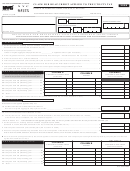 Form Nyc 9.5utx - Claim For Reap Credit Applied To The Utility Tax - 2009