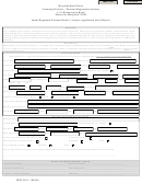 Form Msp 29-51 - Initial Regulated Firearms Dealer's License Application And Affidavit