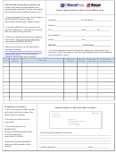 Return Merchandise Authorization Form