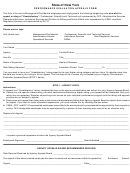 Performance Evaluation Appeal Form