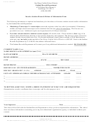 Inactive Student Records Release Of Information Form