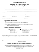 Request A Court Date Form