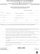 Form Mde/wma/bwd/rea - Application For License Reactivation