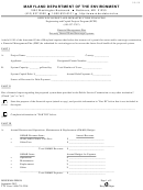 Form Mde/wma-per018 - Financial Management Plan - Privately Owned Water/sewerage Systems