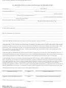 Authorization To Disclose Health Information