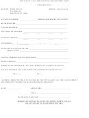 Form 1 - Town Of Eva Tax Application& Information Form - 2014