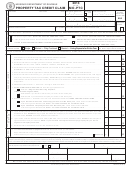 Form Mo-ptc - Property Tax Credit Claim - 2013