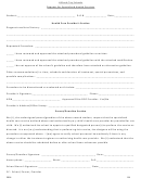 Request Specialized Heath Services Form