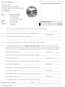 Cancellation Of Domestic Limited Partnership Or Limited Liability Limited Partnership Form 35-12-603, Mca - State Of Montana 2012