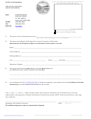 Certificate Form Of Domestic Limited Partnership - State Of Montana Revised: 09/15/2009