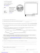 Articles Of Dissolution For Profit Corporation - Montana Secretary Of State - 2010