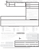 Form Inc 251 - Application For Extension Of Time To File Individual Income Tax Return - Tennessee Department Of Revenue