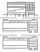 Form Gr-941 - Employers Return Of Income Tax Withheld - City Of Grayling - Form