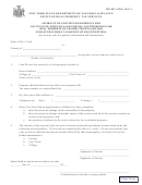 Form Rp-467-aff/ctv - Affidavit Of Continued Eligibility For County/city/town/village Partial Tax Exemption