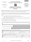 Form 1952 - Supplement To Financial Report
